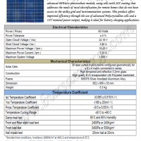 Solar Panel 60Wp Polycrystalline