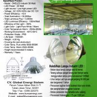 Lampu LED Industri 30 Watt