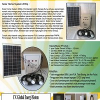 Solar Home System 20Wp