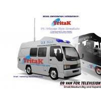 OB VAN ( Outdoor Broadcast Van ) Television / Radio