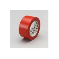 3M Vinyl Tape 764 Red, 2 in x 36 yd, tebal: 0.125 mm