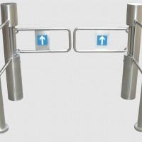 Swing gate Barrier untuk supermarket