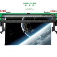 MESIN ECO SOLVENT XENONS 3, 2meter