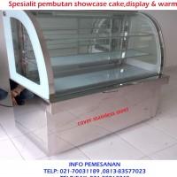 SHOWCASE COOLER DISPLAY CAKE 1200X550X1250 mm