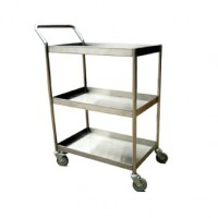 Trolley Makanan 3 Susun With Handle