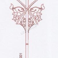 Tiang Lampu Jalan Klasik 1