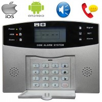 Wire dan Wireless GSM Alarm Dialer Pro S100Pro