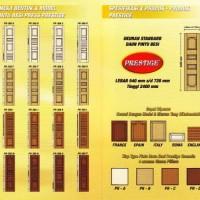 Pintu Besi Press PRESTIGE Model Pintu Kayu
