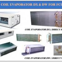 Evaporator coil DX & DW For FCU