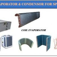 Evaporator coil & Condenser For Split Duct