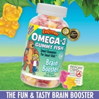 L' il Critters Omega 3 Gummy Fish Promotes Developing Brains The NutrientsThe Children Need for