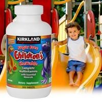 Kirkland Children' s Chewable Complete MultiVitamin Ensures Your Children Having All The Necess
