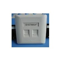 FACE PLATE SYSTIMAX COMMSCOPE