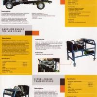 jual trainer peraga SMK/ BLK/ Politeknik jurusan otomotif ; engine trainer otomotif ; automotive eng