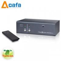 2-Port VGA Video Switch with Audio & Remote-Taiwan ACAFA VAS12