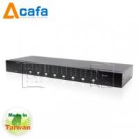 8-Port VGA+Audio Matrix Switch & Remote-ACAFA VAS88