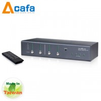 4-Port VGA+Audio Matrix Switch-Taiwan ACAFA VAS44