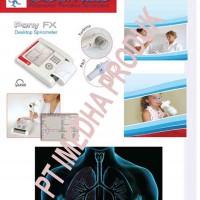DESKTOP SPIROMETER Model : FX Product : Cosmed Sri ( Italy) Fungsi : Untuk pemeriksaan / test paru-p