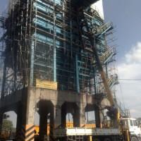 Repair, Sandblasting, Painting SILO ( kideco Coal Mining)