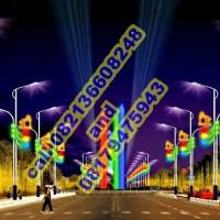 Lampu Hias Tiang PJU Motif 6