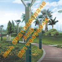 Tiang Lampu Hias Taman Modern Style 4