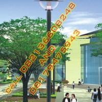 Tiang Lampu Hias Taman Modern Style 39