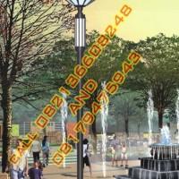 Tiang Lampu Hias Taman Modern Style 44