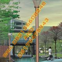 Tiang Lampu Hias Taman Modern Style 49