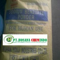 Sodium Benzoate ex.Wuhan - China ( HALAL MUI)