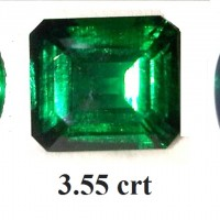 GILSON / SYNTHETIC EMERALD BEST COLOR
