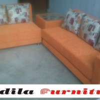 Sofa Minimalis Bed Type 3.2 Meja Pojok
