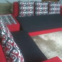 Sofa Minimalis Type 3.2 Meja Pojok + 5 Bantal Besar