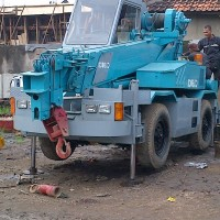 roughter crane kobelco RK70 boom 25 meter,build up jepang