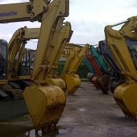 mini excavator dozer komatsu PC30,PC40,PC50,PC60,PC75 build up ex jepang