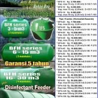 BioSeven Septic tank biologis fiberglass (Biotech & Biofil system)