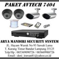 Paket CCTV Avtech 7404