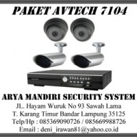 Paket CCTV Avtech 7104