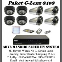 Paket CCTV G-Lenz 8408