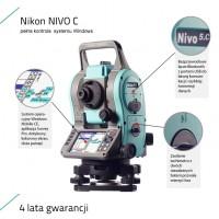 Nikon NIVO C Series Total Station max. 5 000 m (16,404 ft)