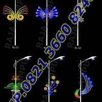 Lampu Hias Dekoratif Tiang PJU RL 01 - RL 06