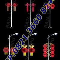 Lampu Hias Dekoratif Tiang PJU RL 13 - RL 18