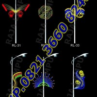 Lampu Hias Dekoratif Tiang PJU RL 31 - RL 36