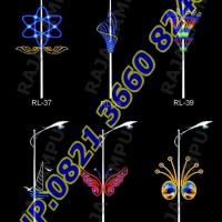 Lampu Hias Dekoratif Tiang PJU RL 37 - RL 42