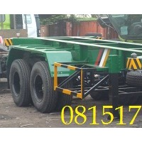 BUNTUT TRAILER 20 FEET 2 AXLE