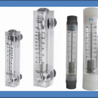 FLOW METER/ SIGHT GLASS - PANEL MOUNTING TYPE
