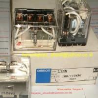 LY4N 110 VAC Relay Omron
