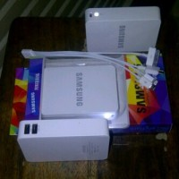 power bank samsung 13000 mah dual port usb