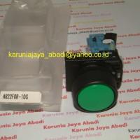 AR22FOR-10G , Push Button Flush Round Head Fuji Electric diameter 22 mm