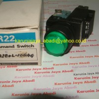 Illuminated Push Button AR22EOL-10Q4G , with Transformer , Normally Open