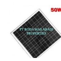 Solar Panel 50 WP PolyCrystalline Modul Surya